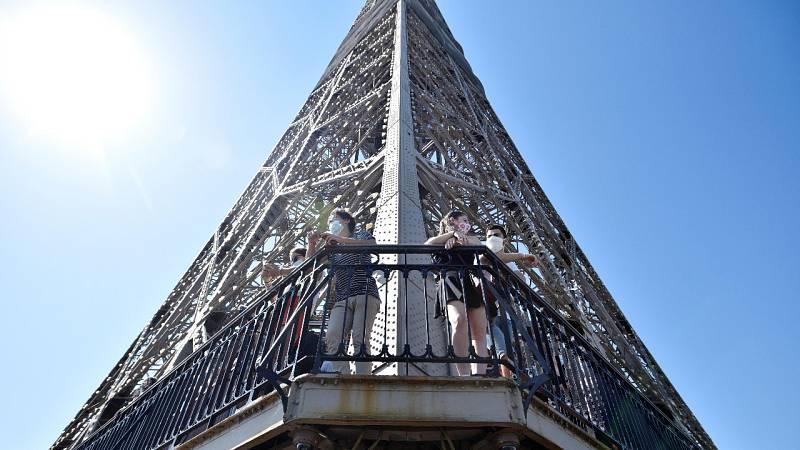 La Torre Eiffel vuelve a recibir visitantes