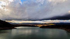 Chubascos y tormentas con granizo en la mitad norte de la Península