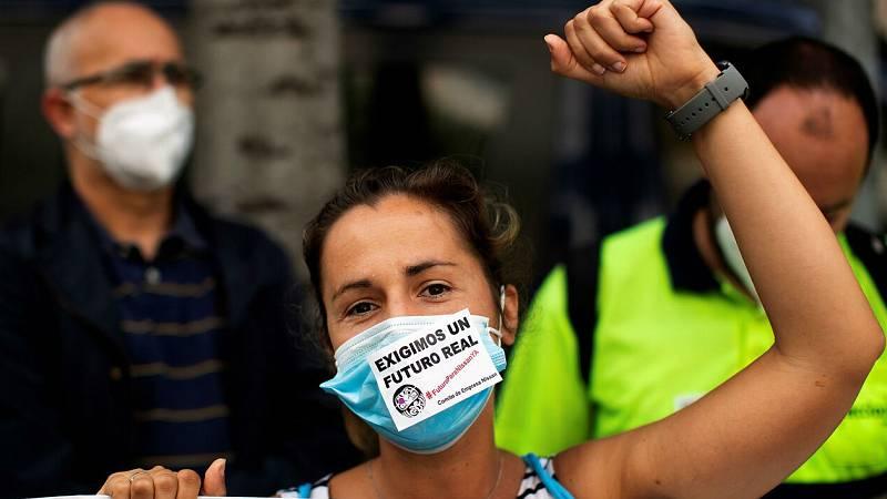 """Yolanda Díaz: """"Existe un acuerdo equilibrado en el que están representados los intereses de todo el país"""""""