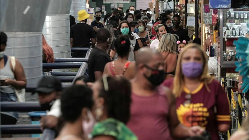 Brasil y EE.UU. tienen cifras preocupantes del virus