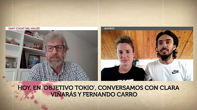 Objetivo Tokio - Programa 90: Clara Viñarás y Fernando Carro (Atletismo) - ver ahora