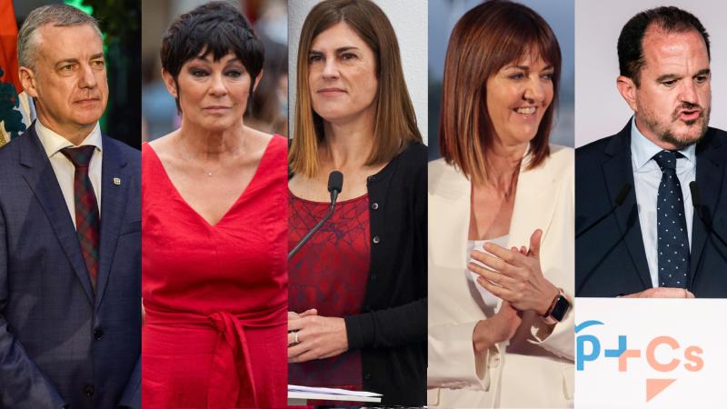 Arranca una atípica campaña para las elecciones vascas con sus candidatos centrados en la crisis del coronavirus