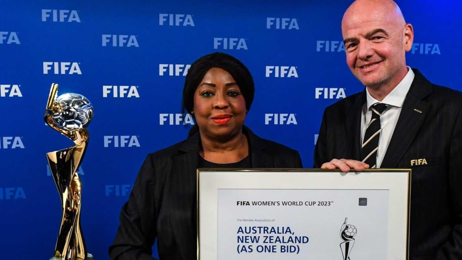 Australia y Nueva Zelanda acogerán el Mundial femenino 2023