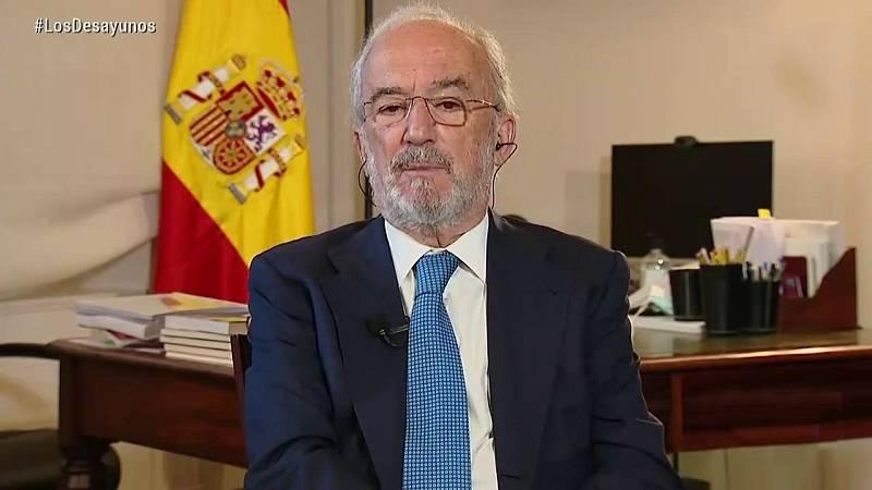 Los desayunos de TVE - Santiago Muñoz Machado, Lluís Orriols y Guillermo Fernández - ver ahora
