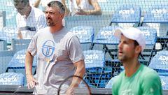 El entrenador de Djokovic, Goran Ivanisevic, positivo por coronavirus