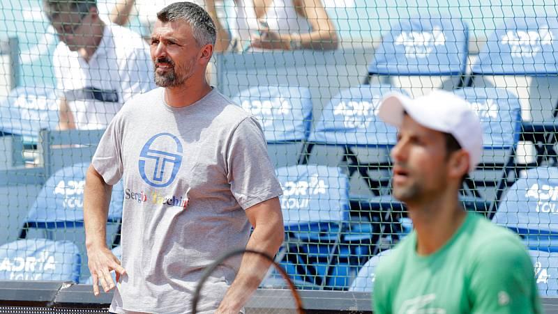 Vídeo: El entrenador de Djokovic, Goran Ivanisevic, positivo por coronavirus