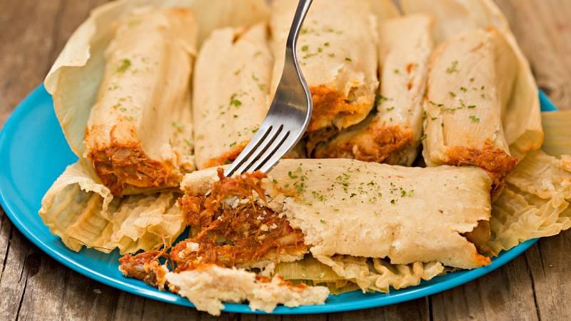 Te presentamos un plato típico mejicano: los tamales