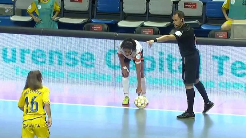 Fútbol Sala - Play off Final Liga femenina. Semifinal: Ourense CF Envialia - AD Alcorcón FS - ver ahora