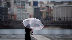 Precipitaciones en el Cantábrico y Pirineos