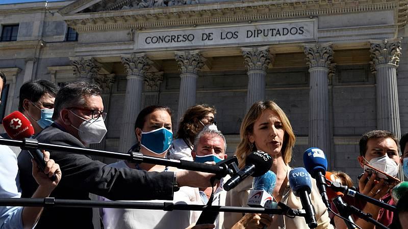 """Álvarez de Toledo comprende el  """"malestar"""" de las asociaciones de víctimas de terrorismo que no han asistido al acto del Congreso"""