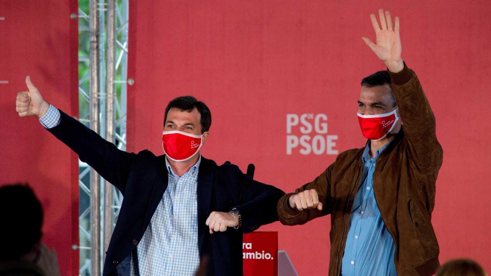 """Sánchez: """"Ante la crisis solo hay dos modelos: PP o PSOE"""""""