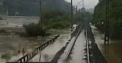 Las grandes inundaciones en el sur de China obligan a evacuar a decenas de miles de personas