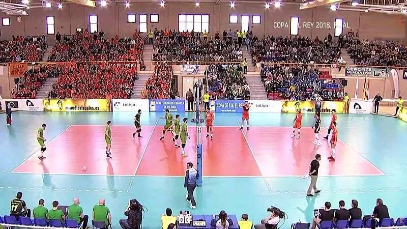 Voleibol - Copa del rey 2018. Final: Teruel - Almería, desde Soria - ver ahora