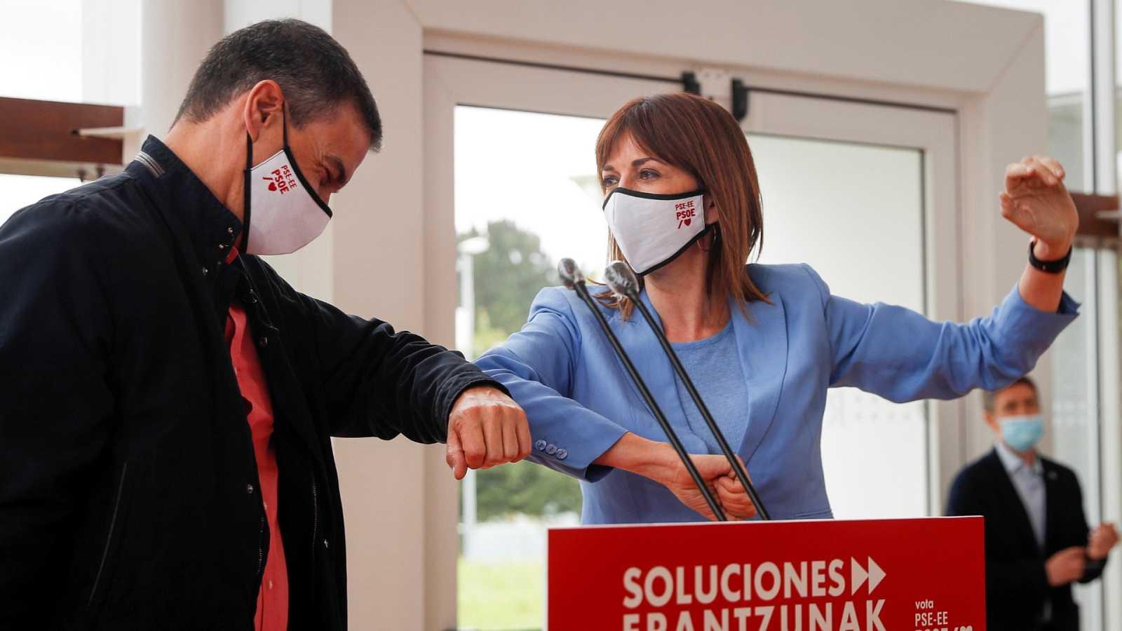 """Sánchez pide unidad para afrontar la reconstrucción y revindica la """"cogobernanza"""""""