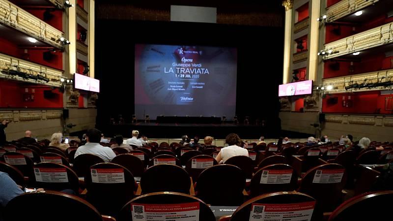 El Teatro Real vuelve el 1 de julio con La Traviata de Verdi