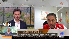"""Samuel Linares (Cruz Roja Málaga): """"Estamos más tranquilos tras ver que en los otros centros todos han dado negativo"""""""