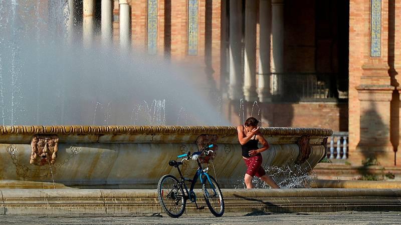 El calor pone en alerta a catorce provincias por temperaturas de hasta 40 grados