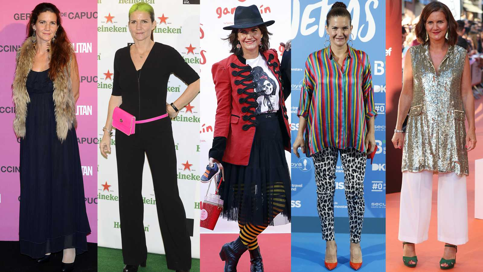 Samantha Vallejo-Nágera comenta su estilo en la alfombra roja