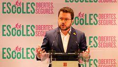"""Aragonès ve """"imprescindible"""" que la mesa de diálogo entre el Gobierno y la Generalitat se reúna en julio"""