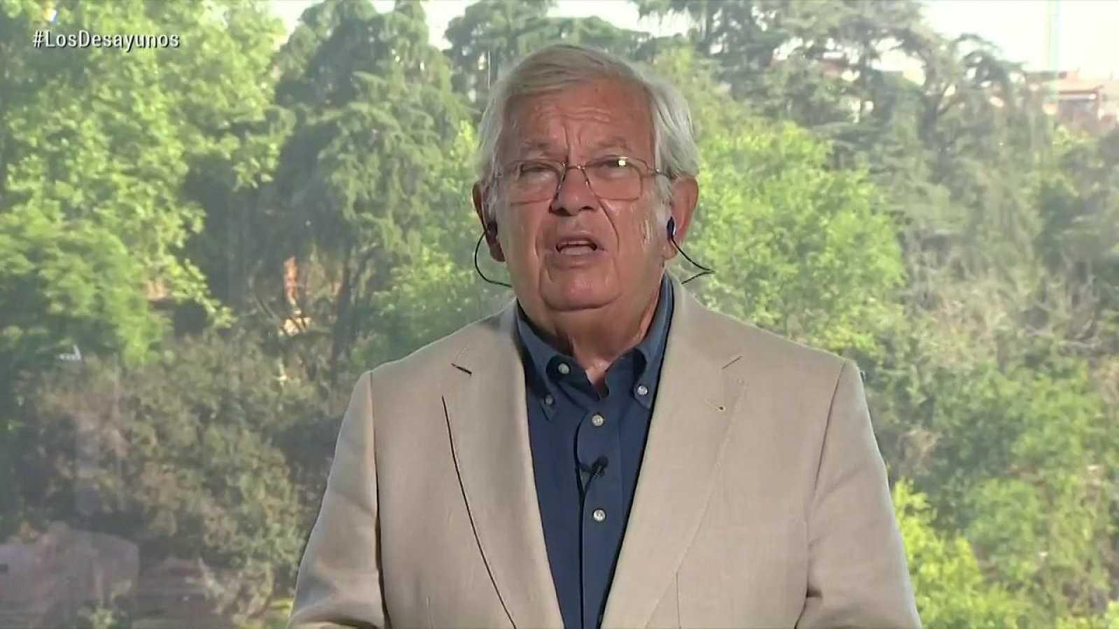 Los desayunos de TVE - Fernando Jáuregui, periodista y escritor - ver ahora