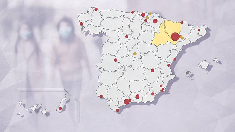 Albacete y Castellón se suman al medio centenar de brotes de coronavirus en España