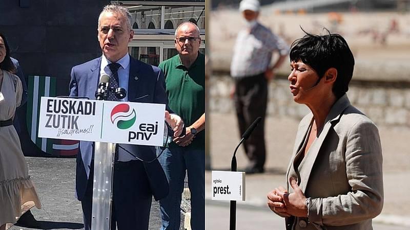 Elecciones vascas 12J: Urkullu defiende la Eurorregión vasca y Bildu pide dignificar a las víctimas de la represión