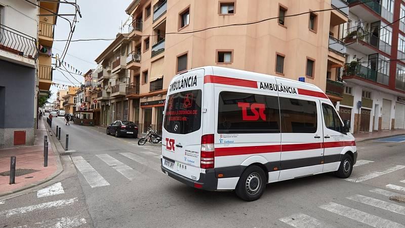 Un hombre ataca con sosa cáustica a una mujer y a su hija en Sant Feliu de Guíxols