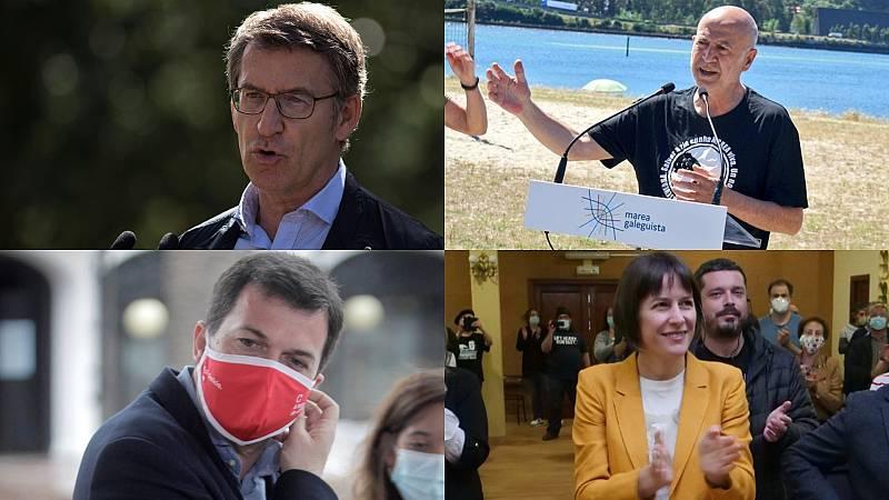 Elecciones gallegas: Los candidatos a la Xunta siguen con sus propuestas sobre el campo, la industria y los jóvenes
