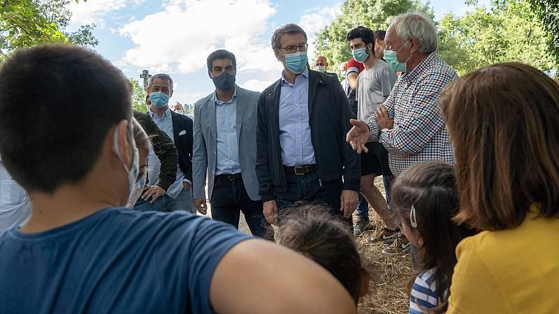 """Elecciones gallegas 2020: Feijóo promete políticas para la mayoría, no para una minoría que """"berrea"""""""