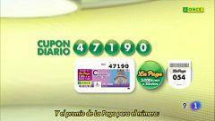 Sorteo ONCE - 30/06/20