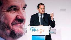 """Iturgaiz defiende la unión con Cs frente al nacionalismo y dice que el PP en Euskadi está hecho """"con sangre, sudor y lágrimas"""""""