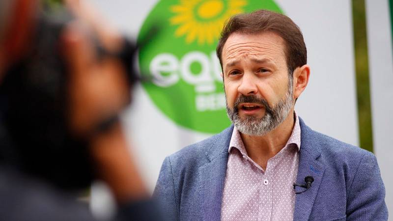 """Becerra (Equo) pide replicar el 12J en Euskadi la """"ola verde"""" de votos que hubo en las elecciones francesas"""