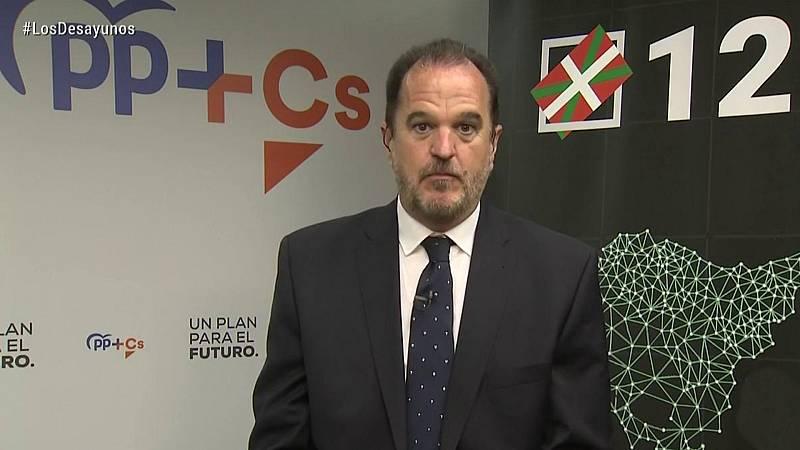 Los desayunos de TVE - Entrevistas electorales: Equo Berdeak, PP+Cs, PSE-EE (PSOE)  - ver ahora
