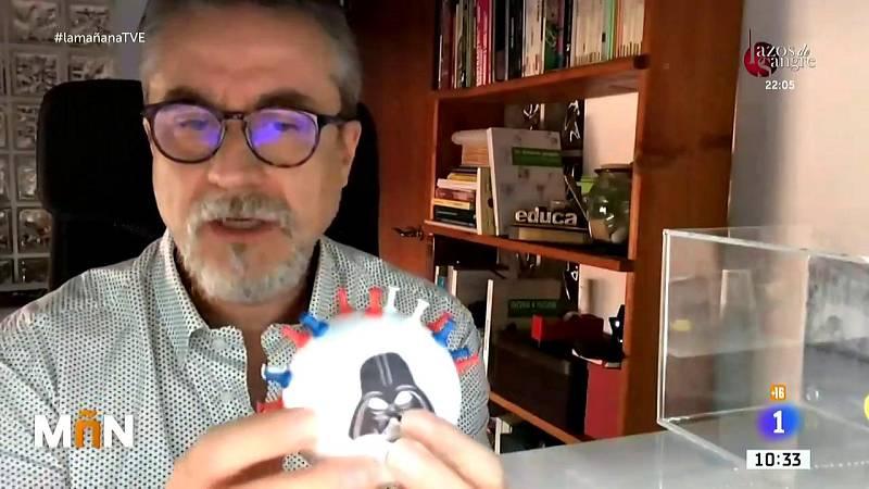 La explicación de Alfredo Corell con los personajes de Star Wars: la respuesta inmunitaria no son solo anticuerpos
