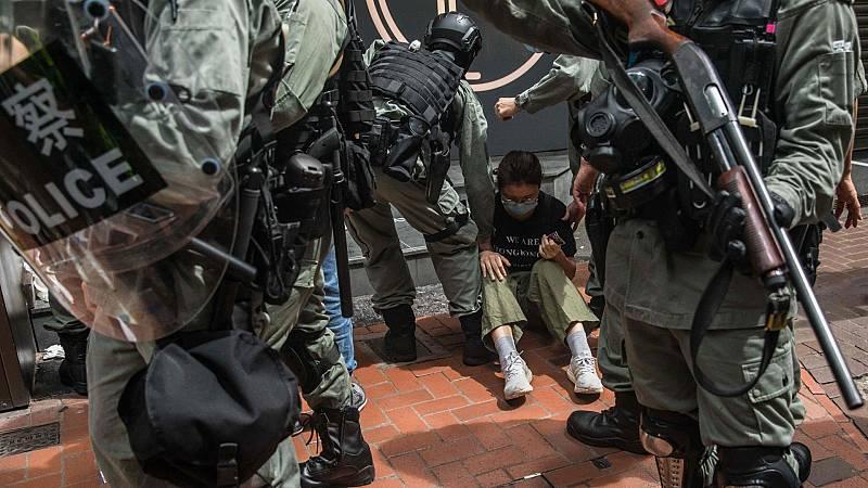Primeros detenidos en Hong Kong tras la aplicación de la nueva Ley de Seguridad Nacional