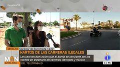 Los vecinos de la Jara (Cádiz), hartos de las carreras ilegales