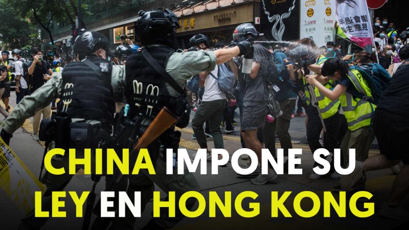 Protestas: entra en vigor la ley de seguridad nacional en Hong Kong