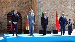 España y Portugal reabren sus fronteras con un acto simbólico