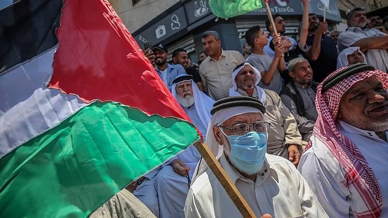 De momento Benjamín Netanyahu no ha cumplido su propósito de decretar parte de la Cisjordania ocupada como territorio israelí