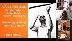 Masterclass Aula OCRTVE Salvador Barberá 1 de julio 2020