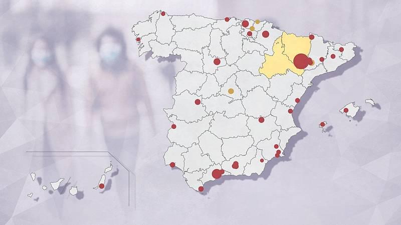 Muere una mujer de 98 años contagiada en el brote de Murcia