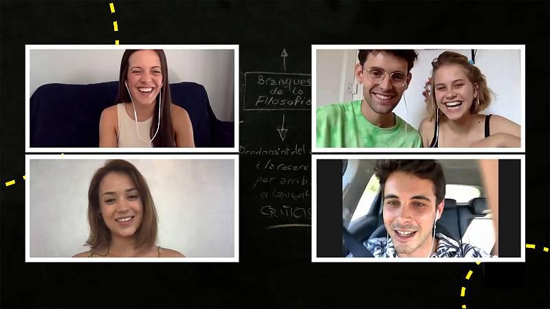 El Hype: Comentamos 'Merlí' con Elisabet Casanovas, David Solans, Júlia Creus e Iñaki Mur