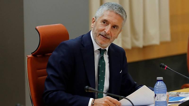 """Marlaska afirma que España estaría """"preparada"""" para el Paso del Estrecho en caso de que Marruecos abra fronteras"""