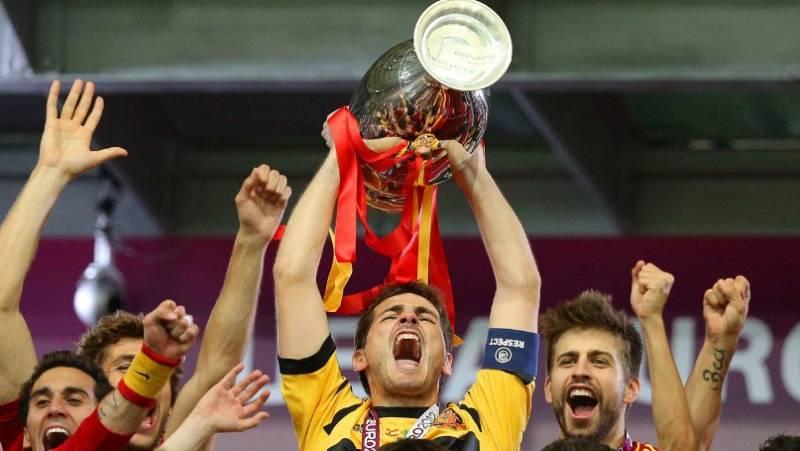 Casillas, molesto con la RFEF por un vídeo conmemorativo de los éxitos de la selección