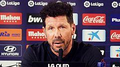 """Simeone se queda """"sin palabras"""" sobre el cambio de Griezmann en el minuto 88"""
