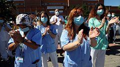 Sanidad notifica un total de 2.119 sanitarios contagiados de coronavirus desde el once de mayo