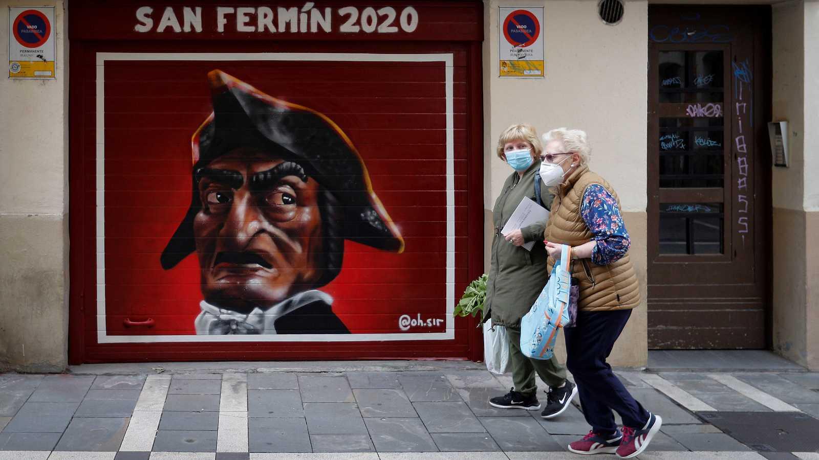 """Los """"no Sanfermines 2020"""", sin riesgos"""