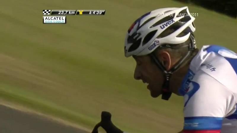 Ciclismo - Tour de Francia 2011. 9ª etapa: Issoire - Saint Flour - ver ahora