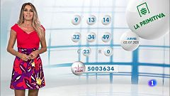 Lotería Nacional + La Primitiva + Bonoloto - 02/07/20