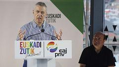 """Urkullu pide a PP+Cs aclarar su """"compromiso"""" con el Estatuto vasco: """"Ciudadanos ha denostado los derechos históricos de Euskadi"""""""